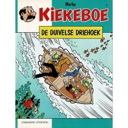 Kiekeboe - 002 De duivelse driehoek - herdruk - Standaard Uitgeverij, 1e reeks