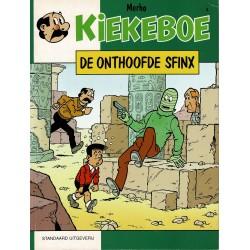Kiekeboe - 004 De onthoofde sfinx - herdruk - Standaard Uitgeverij, 1e reeks