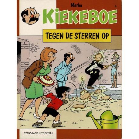 Kiekeboe - 005 Tegen de sterren op - herdruk - Standaard Uitgeverij, 1e reeks