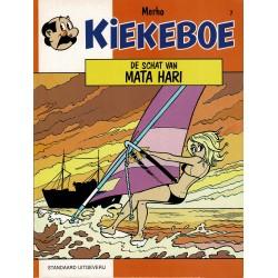 Kiekeboe - 007 De schat van Mata Hari - herdruk - Standaard Uitgeverij, 1e reeks