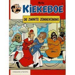 Kiekeboe - 009 De zwarte Zonnekoning - herdruk - Standaard Uitgeverij, 1e reeks