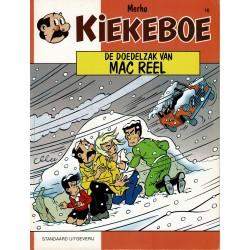 Kiekeboe - 010 De doedelzak van Mac Reel - herdruk - Standaard Uitgeverij, 1e reeks