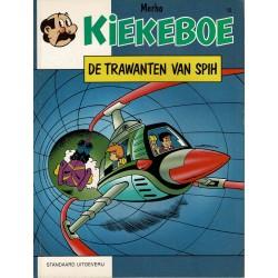 Kiekeboe - 012 De trawanten van Spih - herdruk - Standaard Uitgeverij, 1e reeks
