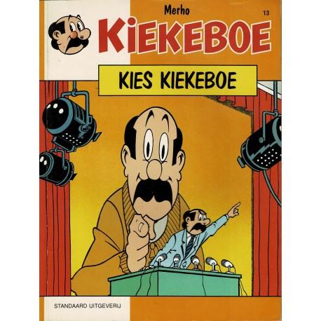 Kiekeboe - 013 Kies Kiekeboe - herdruk - Standaard Uitgeverij, 1e reeks