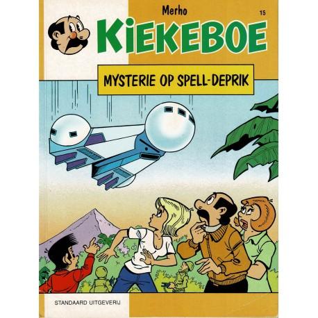 Kiekeboe - 015 Mysterie op Spell-Deprik - herdruk - Standaard Uitgeverij, 1e reeks