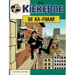 Kiekeboe - 020 De Ka-Fhaar - herdruk - Standaard Uitgeverij, 1e reeks