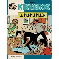 Kiekeboe - 021 De pili-pili pillen - herdruk - Standaard Uitgeverij, 1e reeks