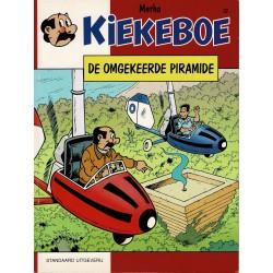 Kiekeboe - 022 De omgekeerde piramide - herdruk - Standaard Uitgeverij, 1e reeks