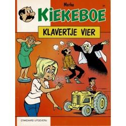 Kiekeboe - 031 Klavertje vier - herdruk - Standaard Uitgeverij, 1e reeks