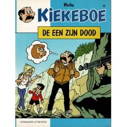 Kiekeboe - 033 De een zijn dood - herdruk - Standaard Uitgeverij, 1e reeks