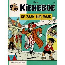 Kiekeboe - 034 De zaak Luc Raak - herdruk - Standaard Uitgeverij, 1e reeks