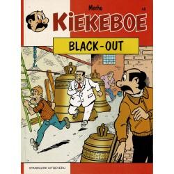 Kiekeboe - 048 Black-out - herdruk - Standaard Uitgeverij, 1e reeks