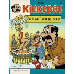 Kiekeboe - 050 Afgelast wegens ziekte - herdruk - Standaard Uitgeverij, 1e reeks