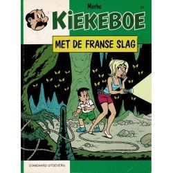 Kiekeboe - 051 Met de Franse slag - herdruk - Standaard Uitgeverij, 1e reeks