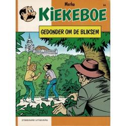 Kiekeboe - 054 Gedonder om de bliksem - herdruk - Standaard Uitgeverij, 1e reeks