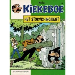 Kiekeboe - 056 Het Stokvis-incident - herdruk - Standaard Uitgeverij, 1e reeks
