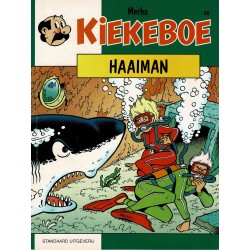 Kiekeboe - 058 Haaiman - herdruk - Standaard Uitgeverij, 1e reeks