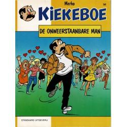 Kiekeboe - 064 De onweerstaanbare man - herdruk - Standaard Uitgeverij, 1e reeks