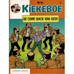 Kiekeboe - 065 De come-back van Dédé - herdruk - Standaard Uitgeverij, 1e reeks