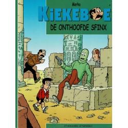 Kiekeboe - 004 De onthoofde sfinx - herdruk - Standaard Uitgeverij, 2e reeks