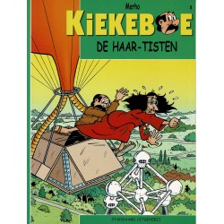 Kiekeboe - 008 De Haar-Tisten - herdruk - Standaard Uitgeverij, 2e reeks