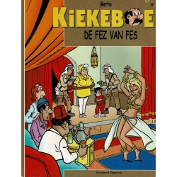 Kiekeboe - 039 De fez van Fes - herdruk - Standaard Uitgeverij, 2e reeks