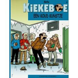 Kiekeboe - 045 Een koud kunstje - herdruk - Standaard Uitgeverij, 2e reeks