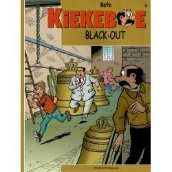 Kiekeboe - 048 Black-out - herdruk - Standaard Uitgeverij, 2e reeks