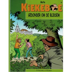 Kiekeboe - 054 Gedonder om de bliksem - herdruk - Standaard Uitgeverij, 2e reeks