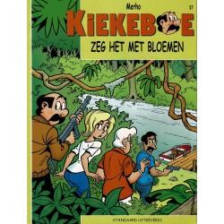 Kiekeboe - 057 Zeg het met bloemen - herdruk - Standaard Uitgeverij, 2e reeks