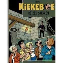 Kiekeboe - 061 De zes sterren - herdruk - Standaard Uitgeverij, 2e reeks