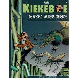 Kiekeboe - 074 De wereld volgens Kiekeboe - herdruk - Standaard Uitgeverij, 2e reeks