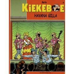 Kiekeboe - 078 Havana Gilla - herdruk - Standaard Uitgeverij, 2e reeks