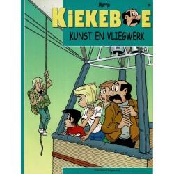 Kiekeboe - 079 Kunst en vliegwerk - herdruk - Standaard Uitgeverij, 2e reeks