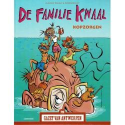 De Familie Kwaal - Kopzorgen - De unieke stripreeks Gazet van Antwerpen