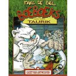 Boeboeks - Soezie Boebie - Taurik - De unieke stripreeks Gazet van Antwerpen