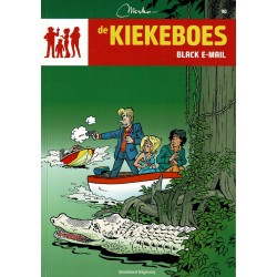 De Kiekeboes - 090 Black e-mail - herdruk - Standaard Uitgeverij, 3e reeks