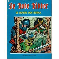 De Rode Ridder - 012 De hoorn van Horak - herdruk - blauwe cover, ongekleurd