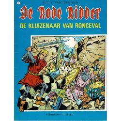 De Rode Ridder - 054 De kluizenaar van Ronceval - herdruk - blauwe cover, ongekleurd