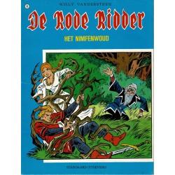 De Rode Ridder - 066 Het nimfenwoud - herdruk - blauwe cover, ongekleurd
