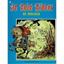 De Rode Ridder - 073 De Moloch - herdruk - blauwe cover, ongekleurd