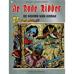 De Rode Ridder - 012 De hoorn van Horak - herdruk - grijze cover, gelijmd