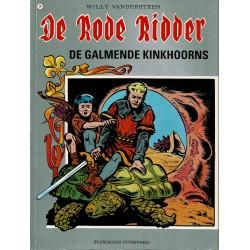 De Rode Ridder - 014 De galmende kinkhoorns - herdruk - grijze cover, gelijmd