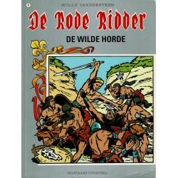 De Rode Ridder - 021 De wilde horde - herdruk - grijze cover, gelijmd