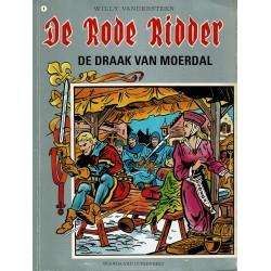De Rode Ridder - 009 De draak van Moerdal - herdruk - grijze cover, gelijmd