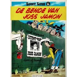 Lucky Luke - 011 De bende van Joss Jamon - herdruk 1998