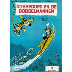 Robbedoes en Kwabbernoot - 017 Robbedoes en de bobbelmannen - reclame uitgaven GB 1995