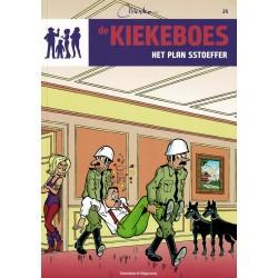 De Kiekeboes - 025 Het plan SStoeffer - herdruk - Standaard Uitgeverij, 3e reeks