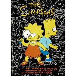 The Simpsons - 002 Het mysterie van de Springfield-puma + Kaarten op tafel - eerste druk 1998