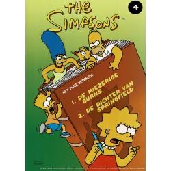 The Simpsons - 004 De miezerige Burns + De dichter van Springfield - eerste druk 1999